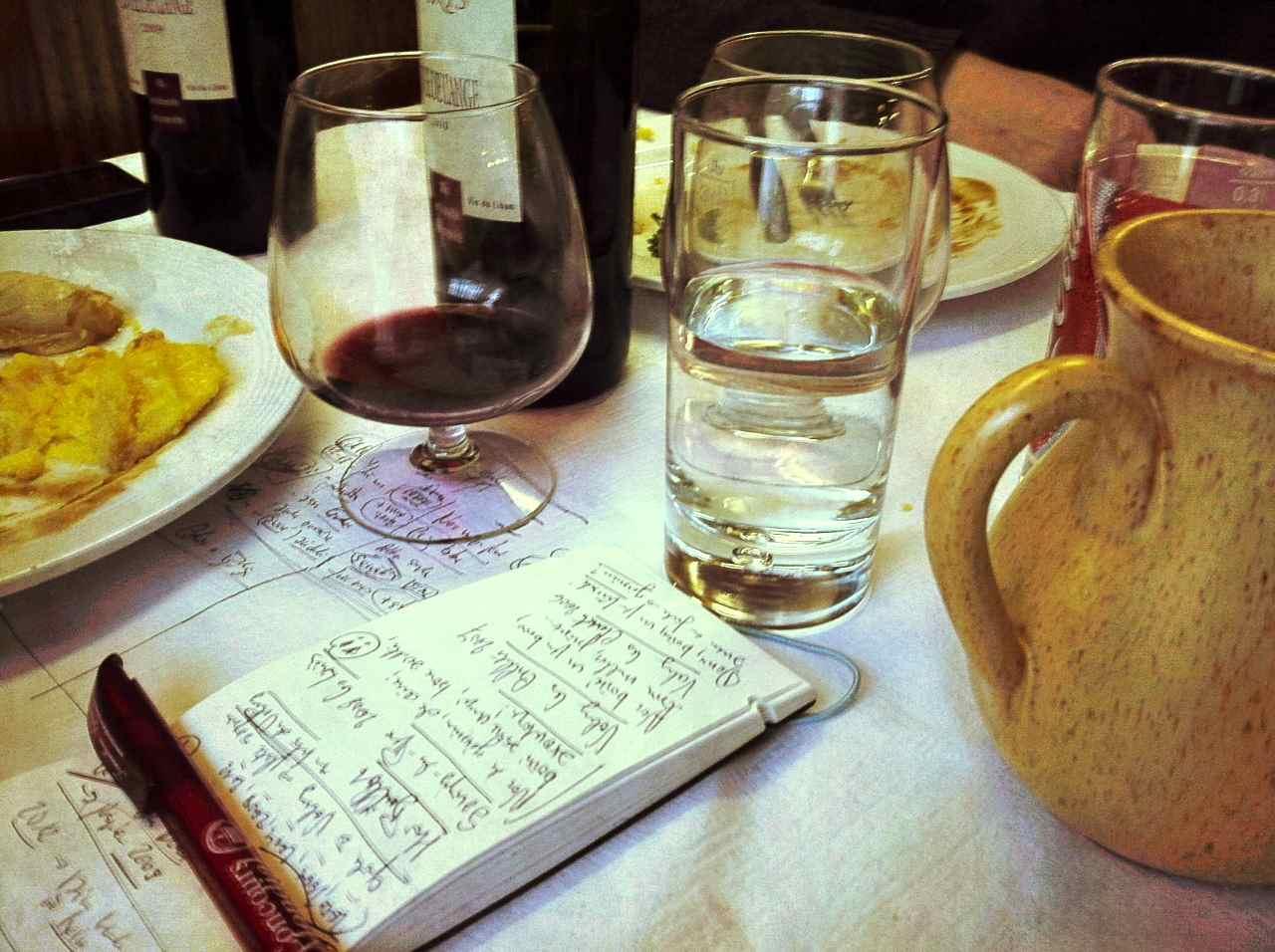 verres aperitif en forme d amphore